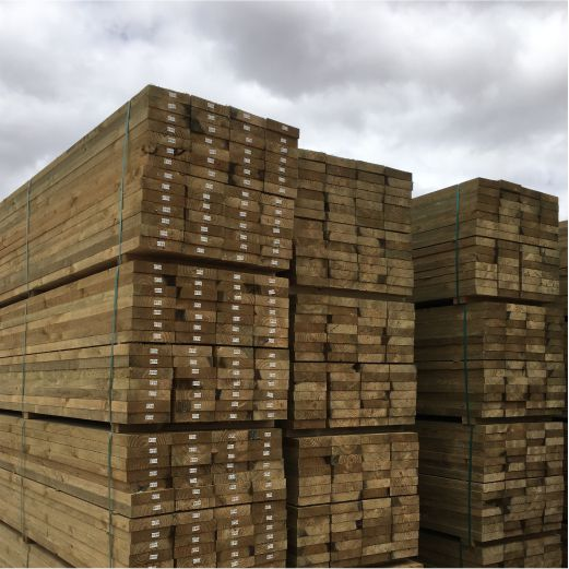 Ph CCAH4 Sawn Sleepers Wet After SAPine